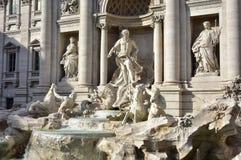 Fuente del Trevi, una señal famosa en Roma Imagen de archivo libre de regalías