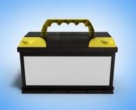 Fuente eléctrica de las piezas de automóvil del coche del acumulador de baterías de la batería libre illustration