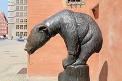 Fuente el oso de Himalaya imágenes de archivo libres de regalías