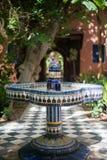 Fuente en Agadir, Marruecos Fotografía de archivo