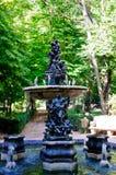 Fuente en Aranjuez imagen de archivo