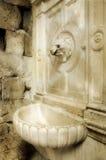 Fuente en el estilo romano Imagen de archivo