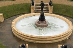 Fuente en el jardín de la casa de Osborne Imagenes de archivo