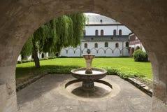 Fuente en el monasterio de Eberbach Fotografía de archivo libre de regalías