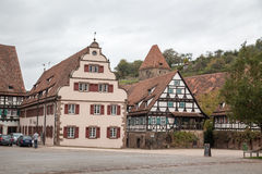 Fuente en el monasterio de Maulbronn Foto de archivo libre de regalías