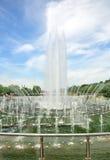 Fuente en el parque de Tsaritsino Imagen de archivo
