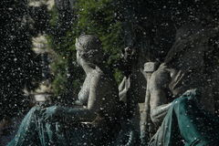 Fuente en Lisboa Fotos de archivo libres de regalías