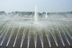 Fuente en los jardines de Herrenhausen, Hannover, Baja Sajonia, alemana Fotos de archivo
