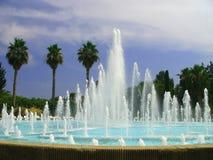 Fuente en Niza, Francia. imagen de archivo libre de regalías