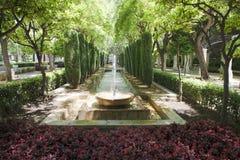 Fuente en Palma de Majorca (Mallorca) Imagen de archivo libre de regalías