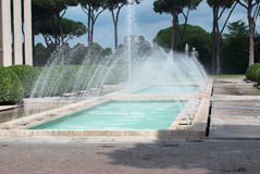 Fuente en Roma imágenes de archivo libres de regalías