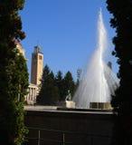 Fuente en universidad Fotos de archivo
