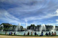 Fuente en Versalles, París Foto de archivo