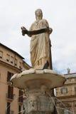 Fuente, erbe del delle de la plaza de Madonna Imagen de archivo libre de regalías