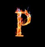 Fuente mágica ardiente - P Imagen de archivo