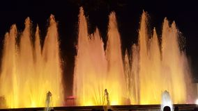 Fuente mágica Barcelona Imagen de archivo