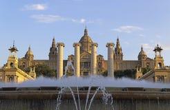Fuente mágica, Montjuic, Barcelona Imágenes de archivo libres de regalías