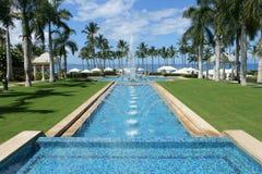 Fuente magnífica de Wailea, Maui Imagenes de archivo