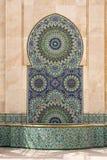 Fuente marroquí Fotografía de archivo libre de regalías