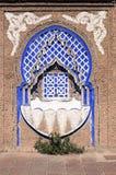 Fuente marroquí típica fotografía de archivo libre de regalías
