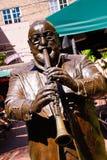 Fuente musical de Pete del parque de las leyendas de New Orleans Foto de archivo libre de regalías