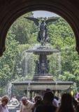Fuente New York City de Bethesda Imagenes de archivo