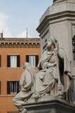 Fuente romana de Roma Italia Imagen de archivo