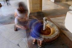 Fuente termal Fotografía de archivo libre de regalías