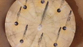 Fuente - visión desde arriba, verano de la fotografía aérea almacen de metraje de vídeo