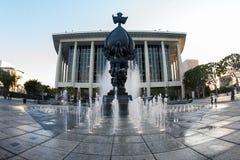 Centro de música de Los Ángeles Imágenes de archivo libres de regalías