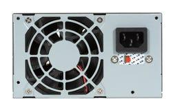 Fuente y ventilador de alimentación del ordenador imagenes de archivo