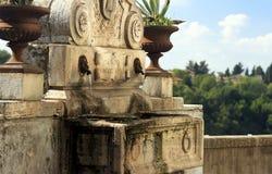 Fuente Zagarolo - Roma, Italia. Imagenes de archivo