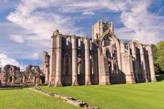 Fuentes Abbey Ruins en Inglaterra Imagen de archivo