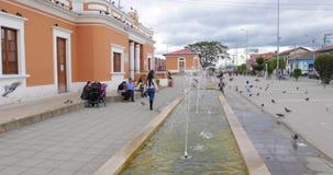 Fuentes de Colombia Cajica en el área de la estación almacen de video
