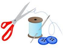 Fuentes de costura libre illustration
