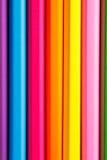 Fuentes de dibujo: lápices clasificados del color, sin extremidades Fotografía de archivo
