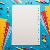 Fuentes de dirección de la escuela Fotografía de archivo libre de regalías