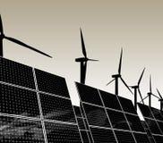 Fuentes de energía naturales Fotografía de archivo libre de regalías