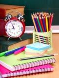 Fuentes de escuela. Imagen de archivo libre de regalías