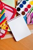 Fuentes de escuela foto de archivo libre de regalías