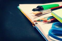 Fuentes de escuela Foto de archivo