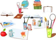 Fuentes de escuela libre illustration