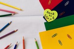 Fuentes de escuela como fondo para su diseño Imagen de archivo libre de regalías