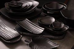 Fuentes de la cocina imagen de archivo libre de regalías
