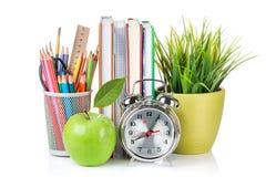 Fuentes de la escuela y de oficina Imagen de archivo libre de regalías
