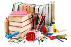 Fuentes de la escuela y de oficina De nuevo a escuela Imagenes de archivo
