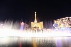 Fuentes de Las Vegas Fotos de archivo libres de regalías