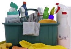 Fuentes de limpieza Fotografía de archivo