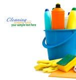 Fuentes de limpieza Fotos de archivo libres de regalías
