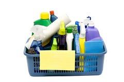 Fuentes de limpieza Fotografía de archivo libre de regalías